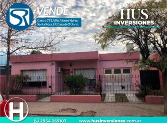 Casa de 2 Dormitorios, Castro 771, Villa Alonso Norte.