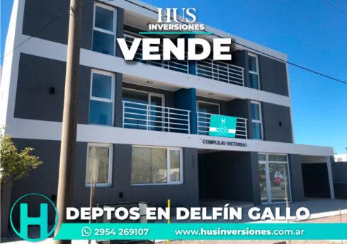 DEPARTAMENTOS EN VILLA SANTILLAN SOBRE DELFIN GALLO N°1567