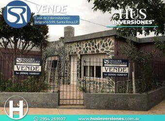 Casa 2 Dormitorios en Belgrano 599 esquina PAMPA.