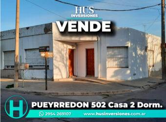 PUEYRREDON 502 –  Casa  2 dormitorios
