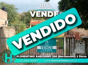 FLORENTINO AMEGHINO 256 (Bernasconi)