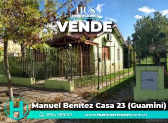 Manuel Benítez casa 23 (Guaminí)