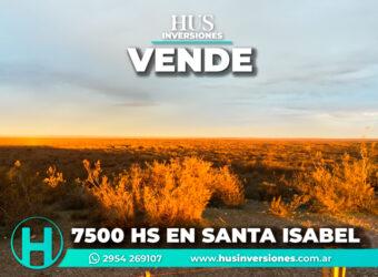 7500 HECTÁREAS EN SANTA ISABEL
