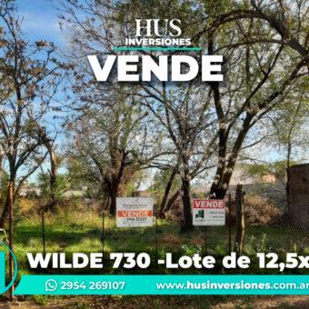 WILDE 730 -Lote de 12,5×40 (500m2)