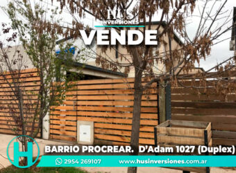 BARRIO PROCREAR – Hermanos D'Adam 1027 – DUPLEX